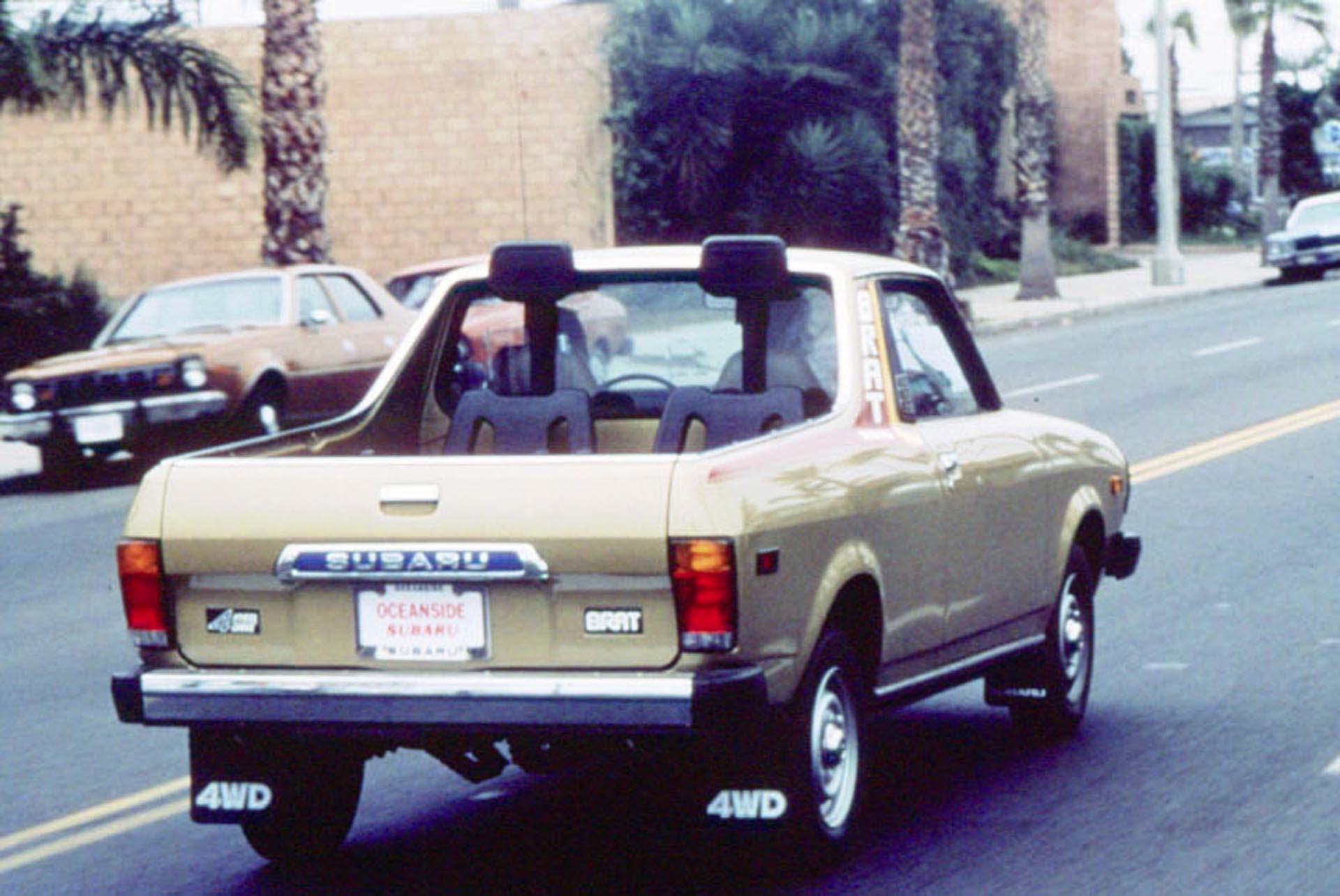 1977 Subaru Brat Autos