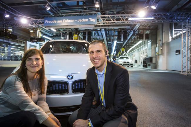 150.000th car delivered at BMW Welt 2