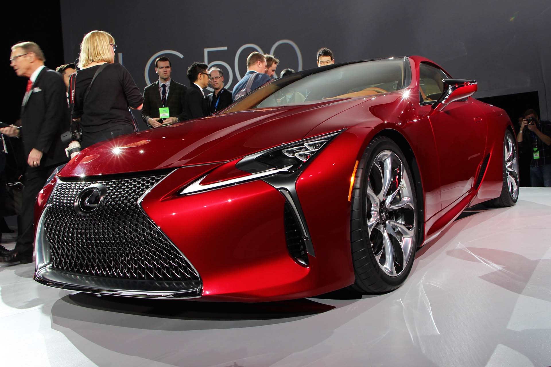 Preview: 2017 Lexus LC 500