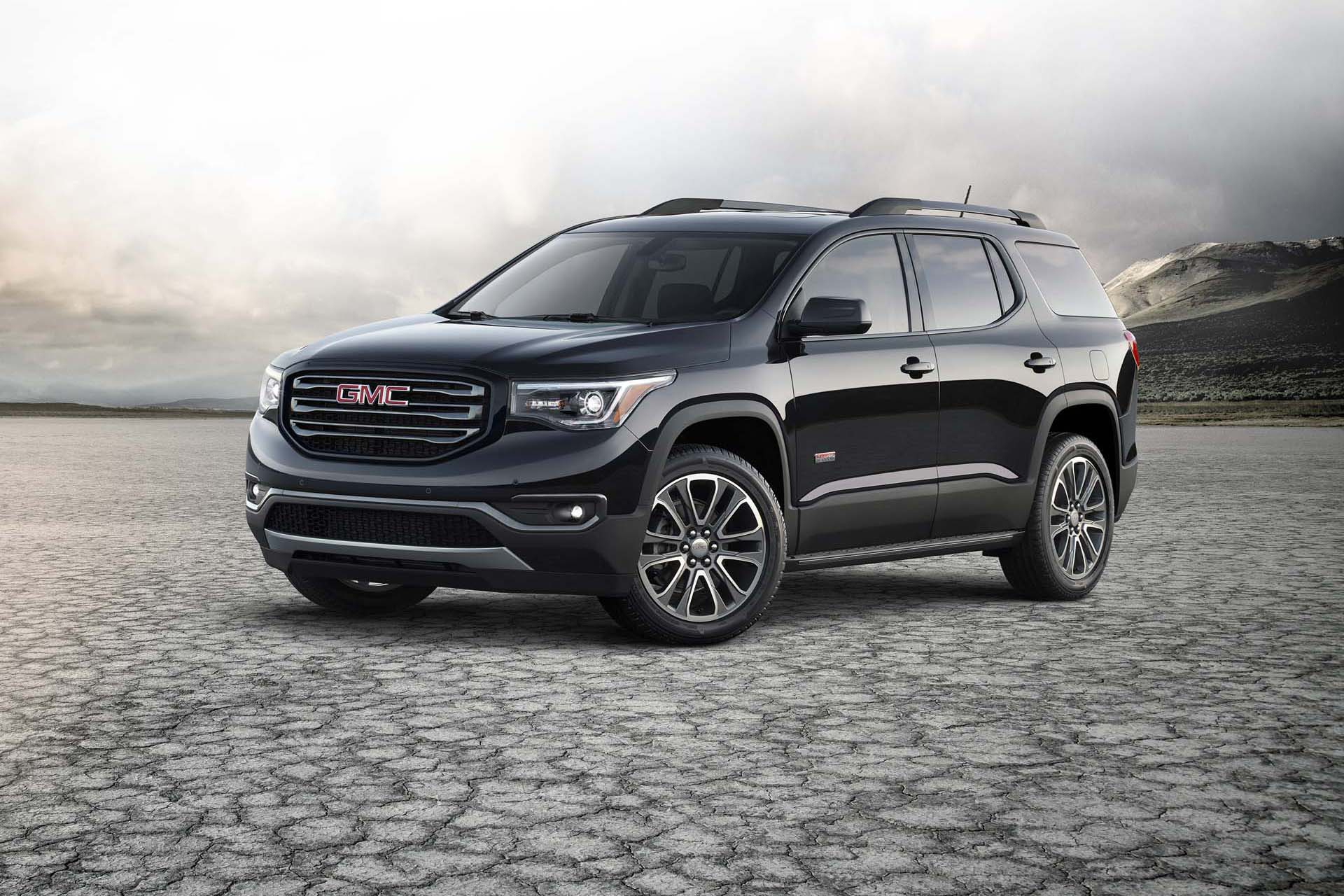2017 gmc acadia all terrain. Black Bedroom Furniture Sets. Home Design Ideas