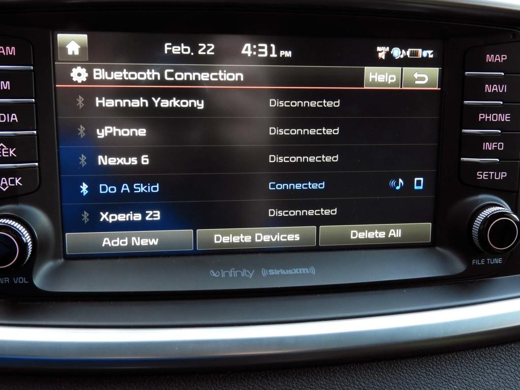 how to turn up navigation audio on kia sorento