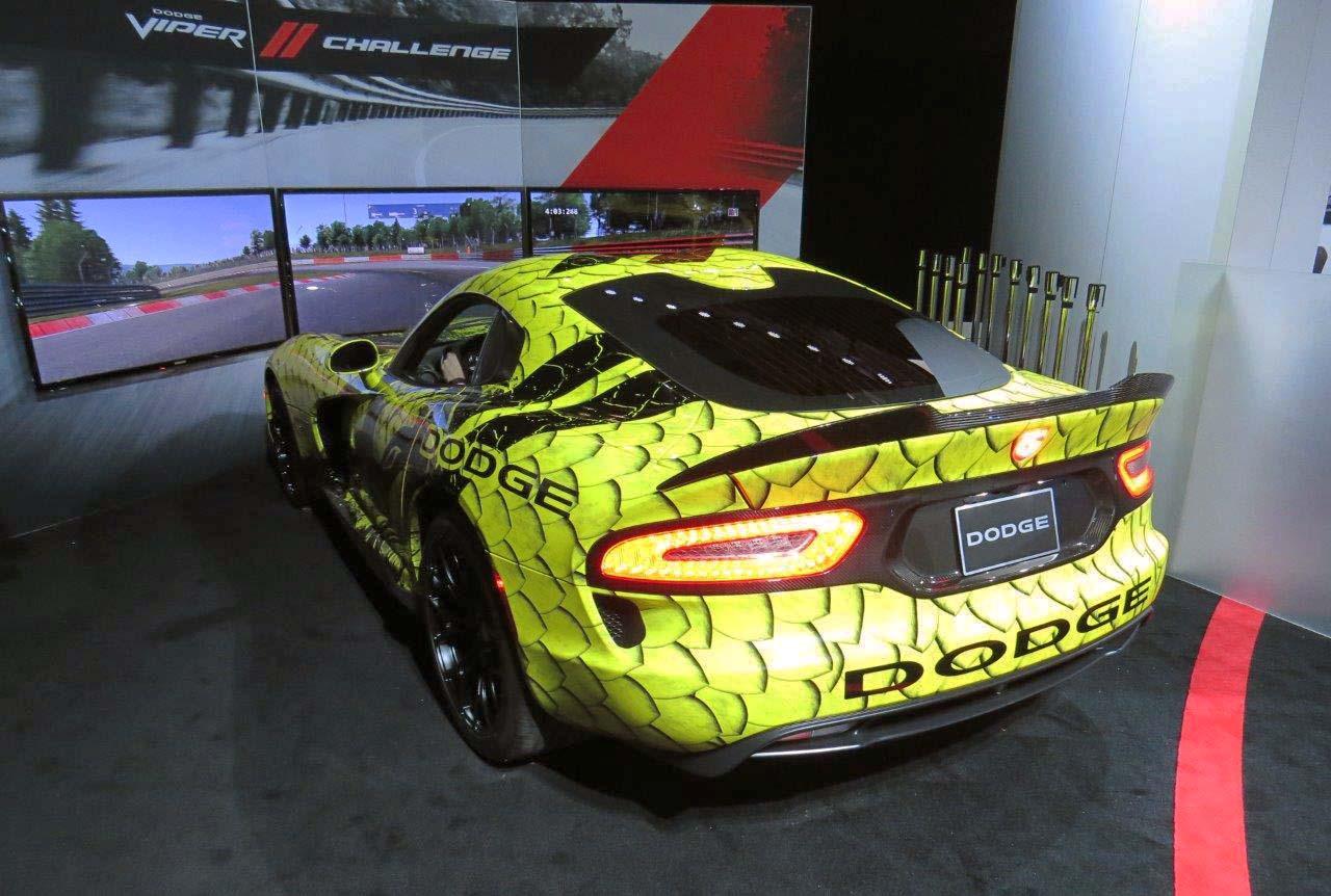 Dodge Viper Snakeskin Simulator Autos Ca