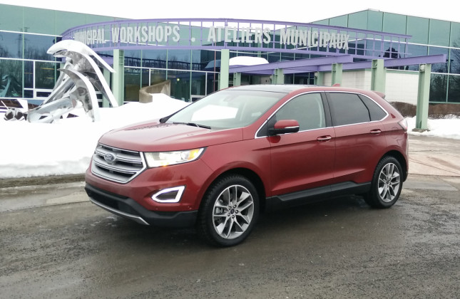 day by day review 2016 ford edge titanium awd. Black Bedroom Furniture Sets. Home Design Ideas