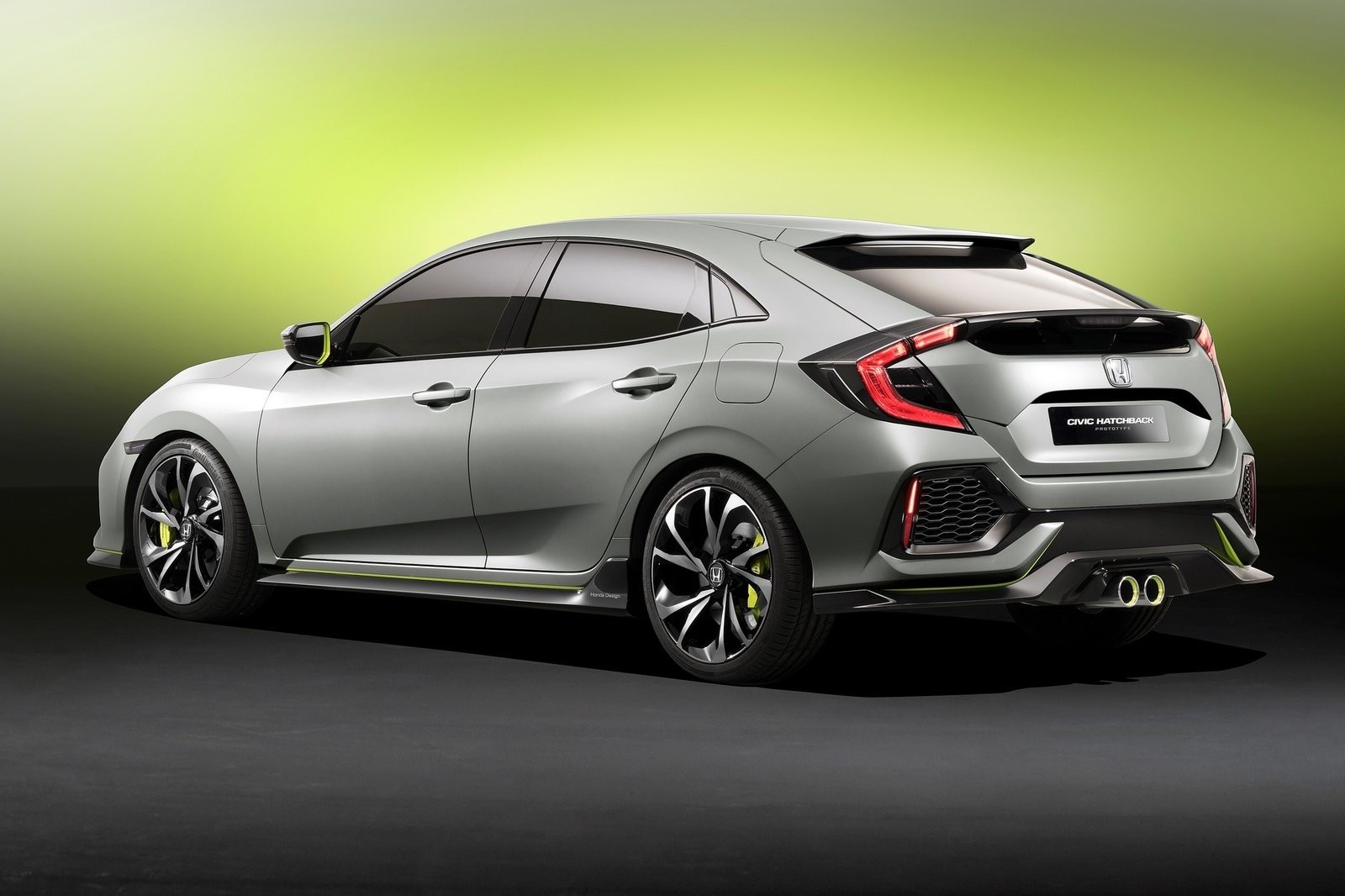 2017 Honda Civic Hatchback Prototype Autos Ca