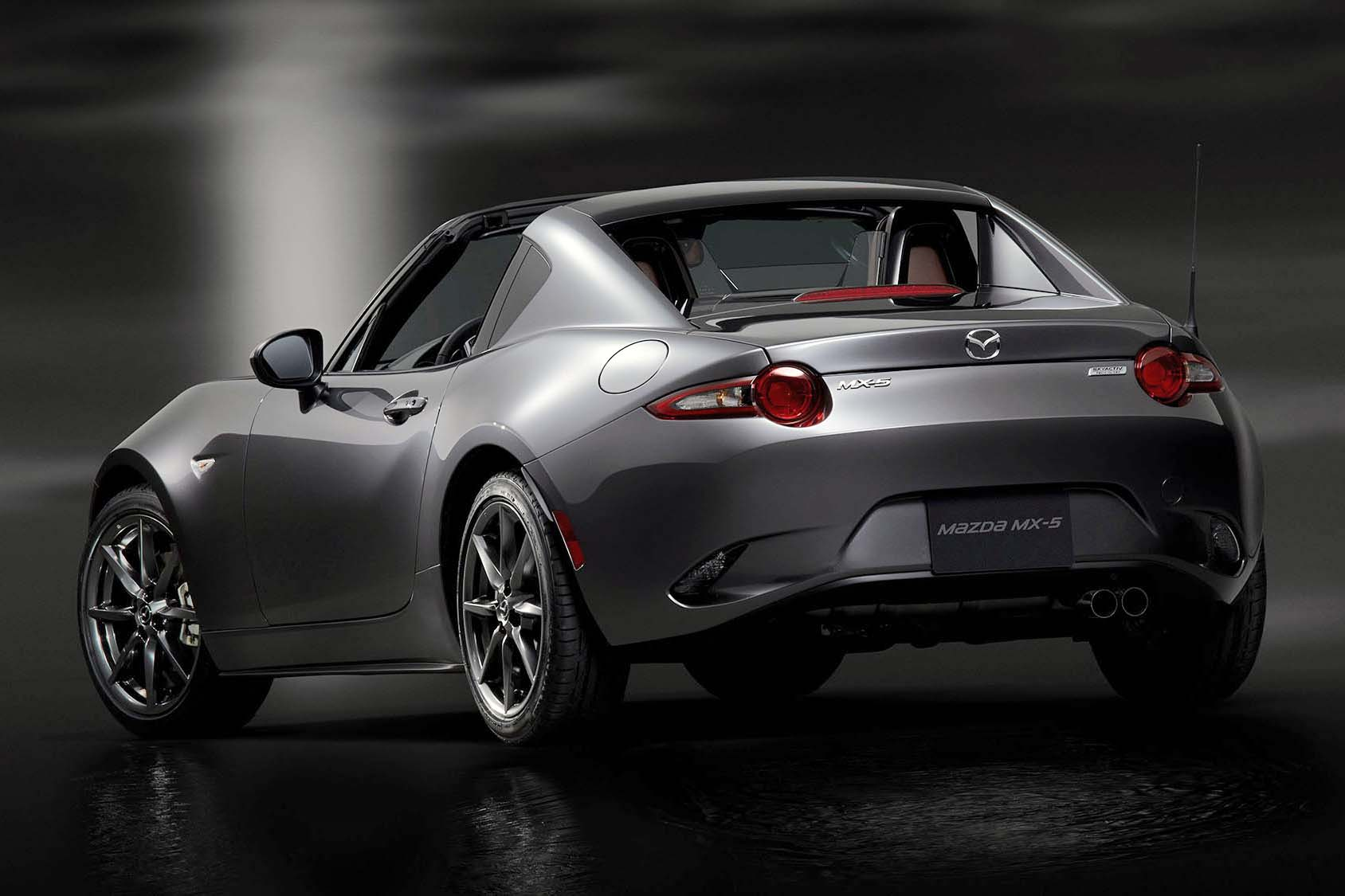 Mazda Mx  >> Fastback Mazda MX-5 RF Stuns in New York - Autos.ca
