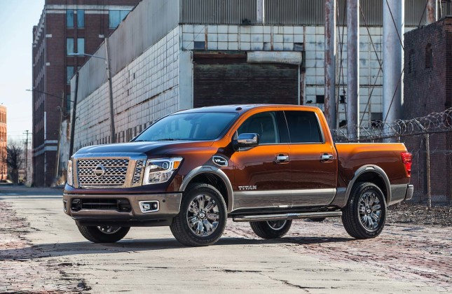 Gasoline Powered Titan Joins Nissan Pickup Line Autos Ca
