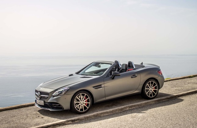 First drive 2017 mercedes benz slc and slc 43 for Mercedes benz amg slc 43