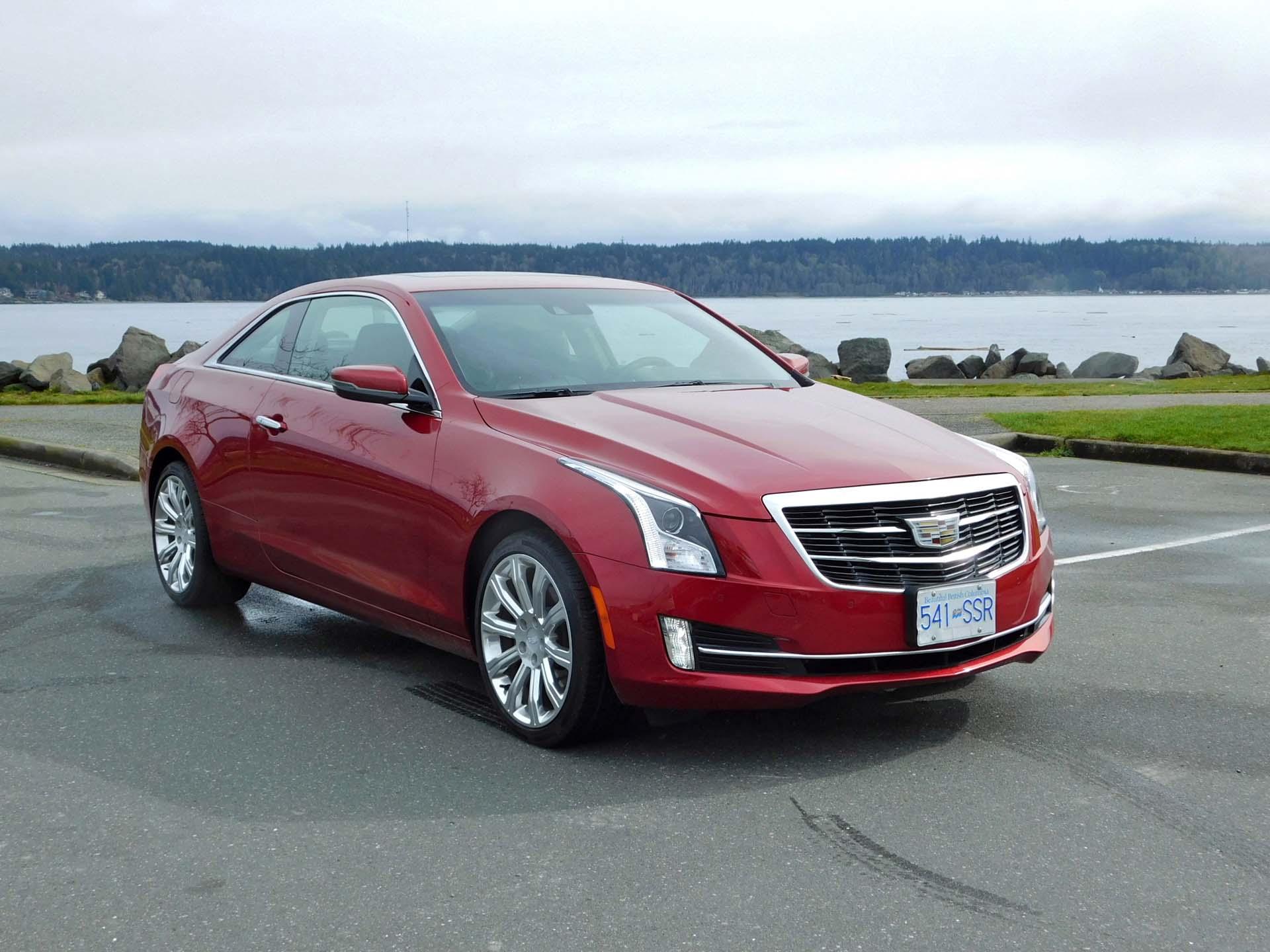 Test Drive 2016 Cadillac Ats Coupe Autos Ca