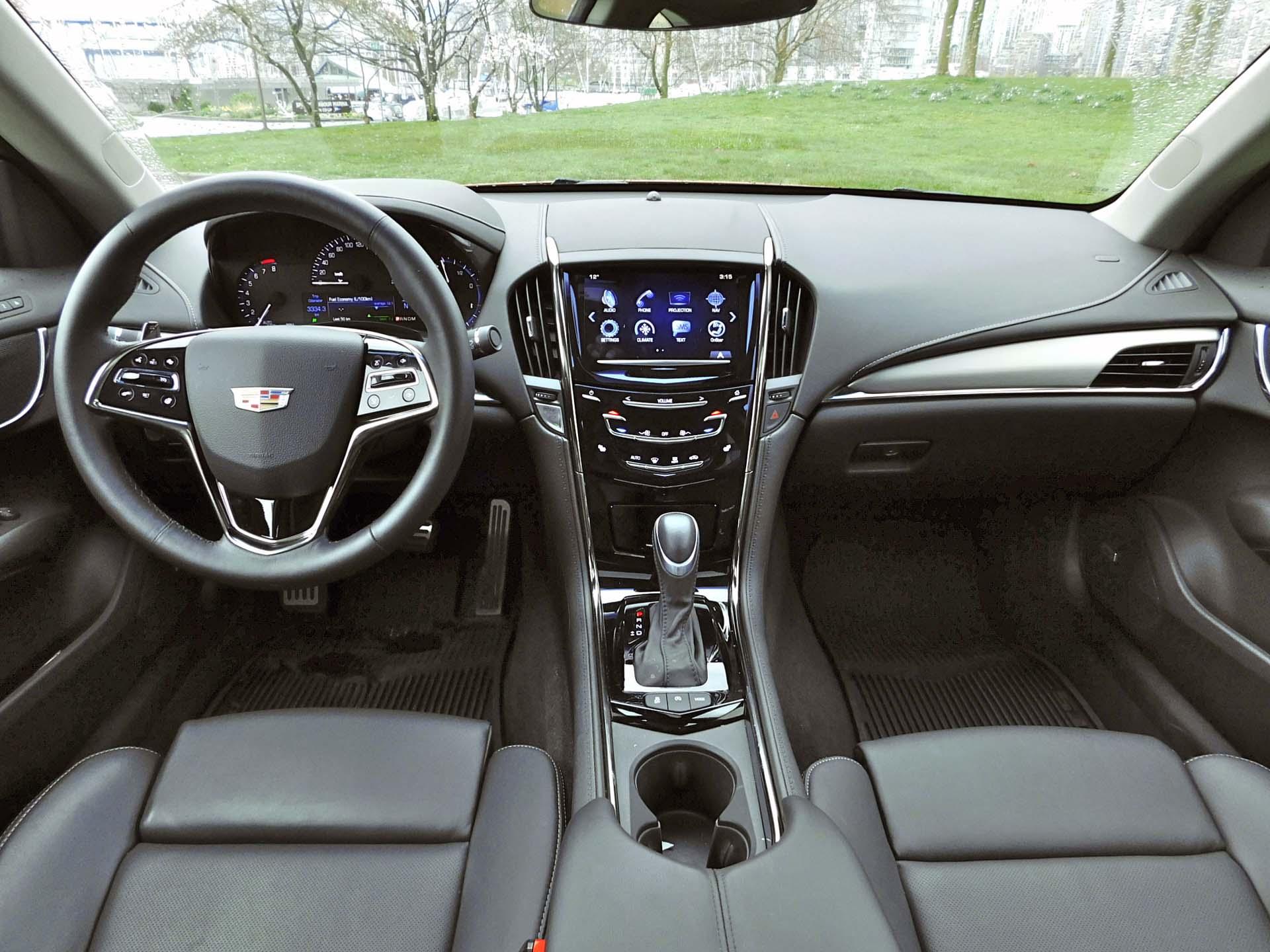 2016 Cadillac Ats 4 Coupe 2 0t Awd Performance Autos Ca