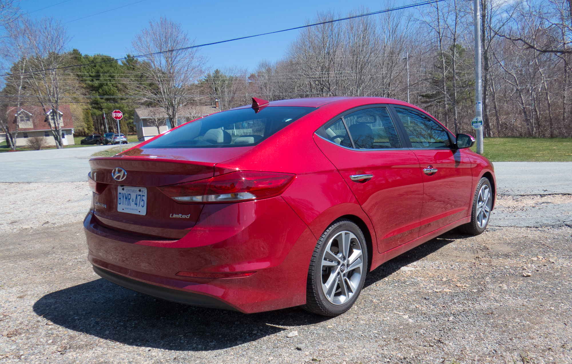 Hyundai Elantra Limited Of