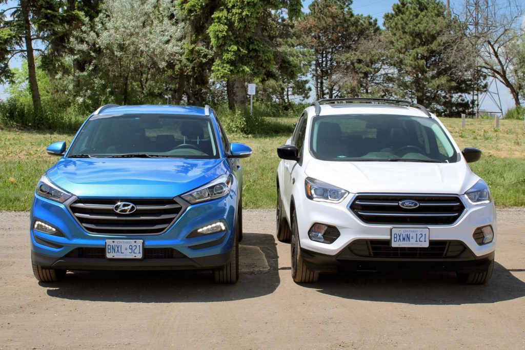 2017 ford escape vs 2016 hyundai tucson 2017 ford escape vs 2016. Cars Review. Best American Auto & Cars Review