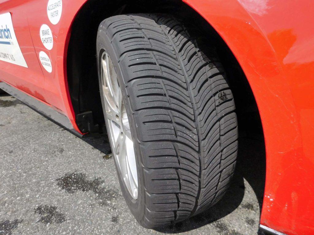 G Force Comp 2 A S >> Tire Comparison: BFGoodrich g-force COMP-2 A/S vs ...