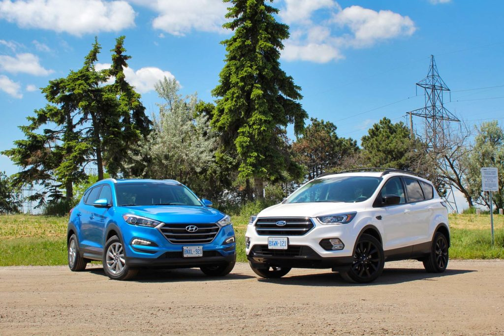 Comparison Test: 2017 Ford Escape vs 2016 Hyundai Tucson ...