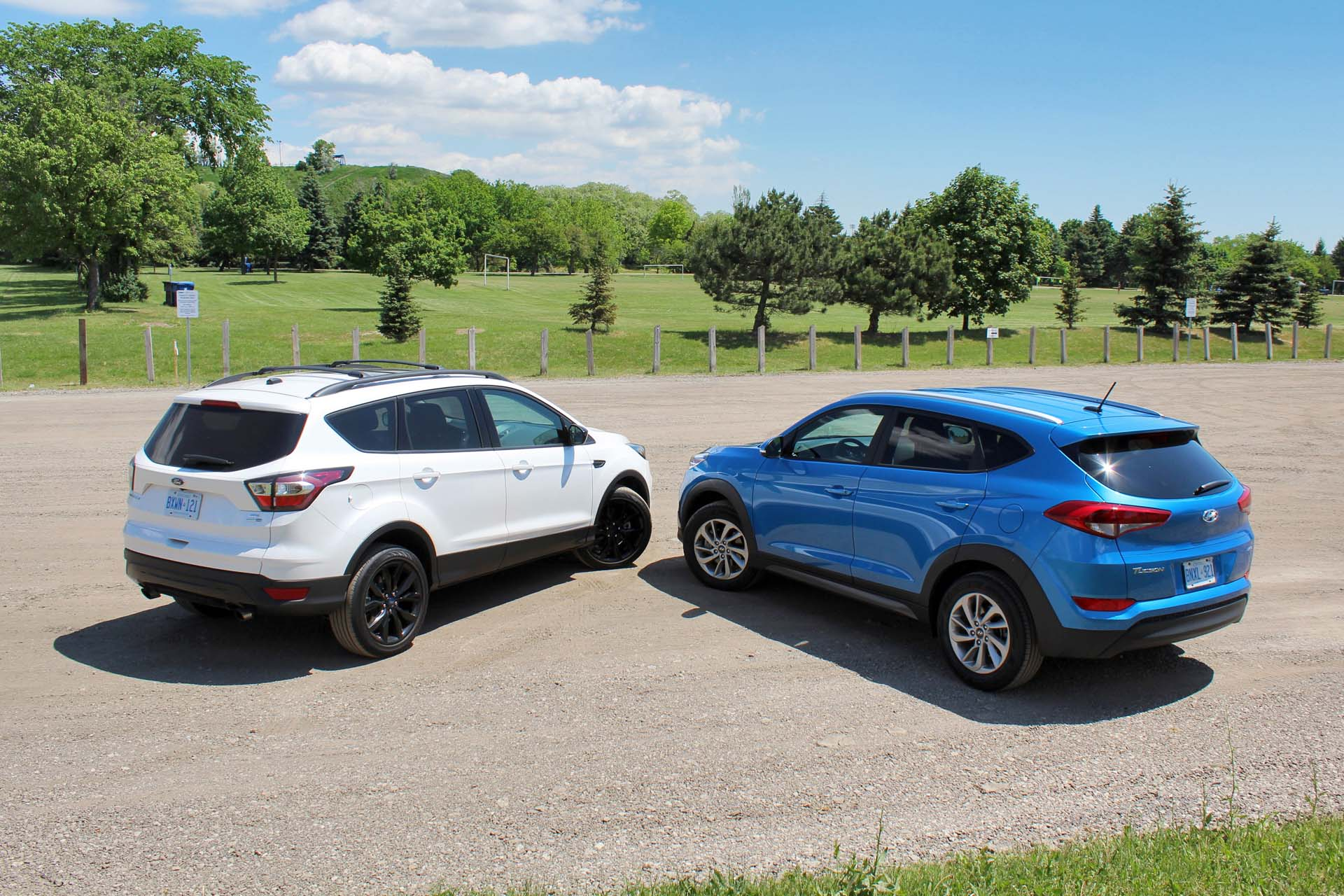 2017 ford escape vs 2016 hyundai tucson 2017 ford escape vs 2016 ...