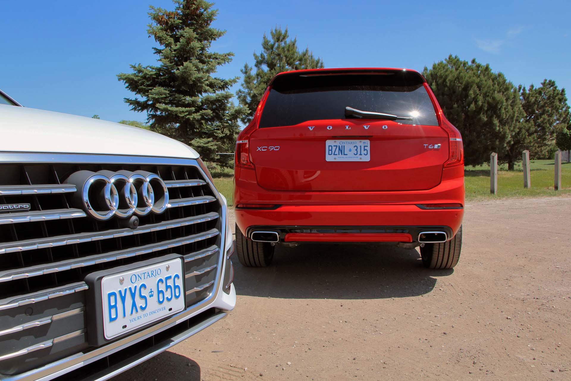 2018 Audi Q7 Vs 2017 Volvo Xc90 Compare Cars | 2017 - 2018 Cars Reviews