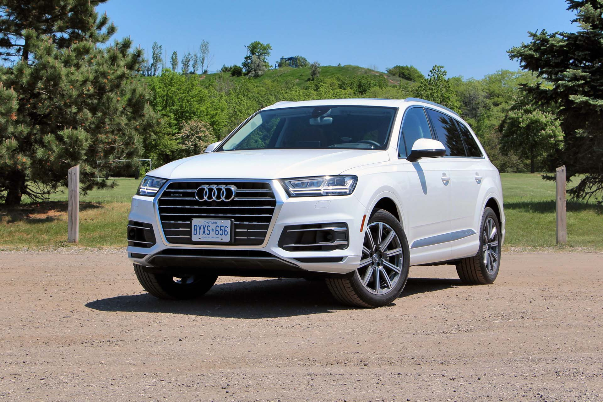 2017 Audi Q7 Technik Autos Ca