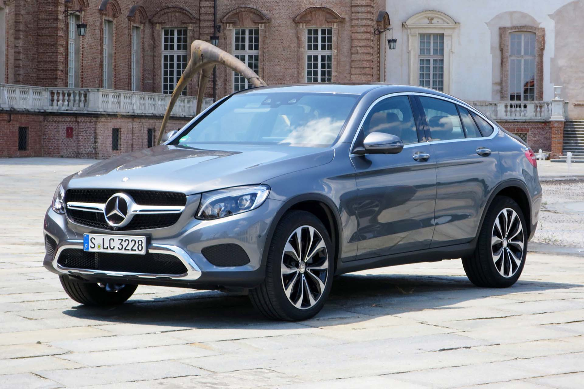 2017 Mercedes Benz Glc 300 4matic Coupe Autos Ca