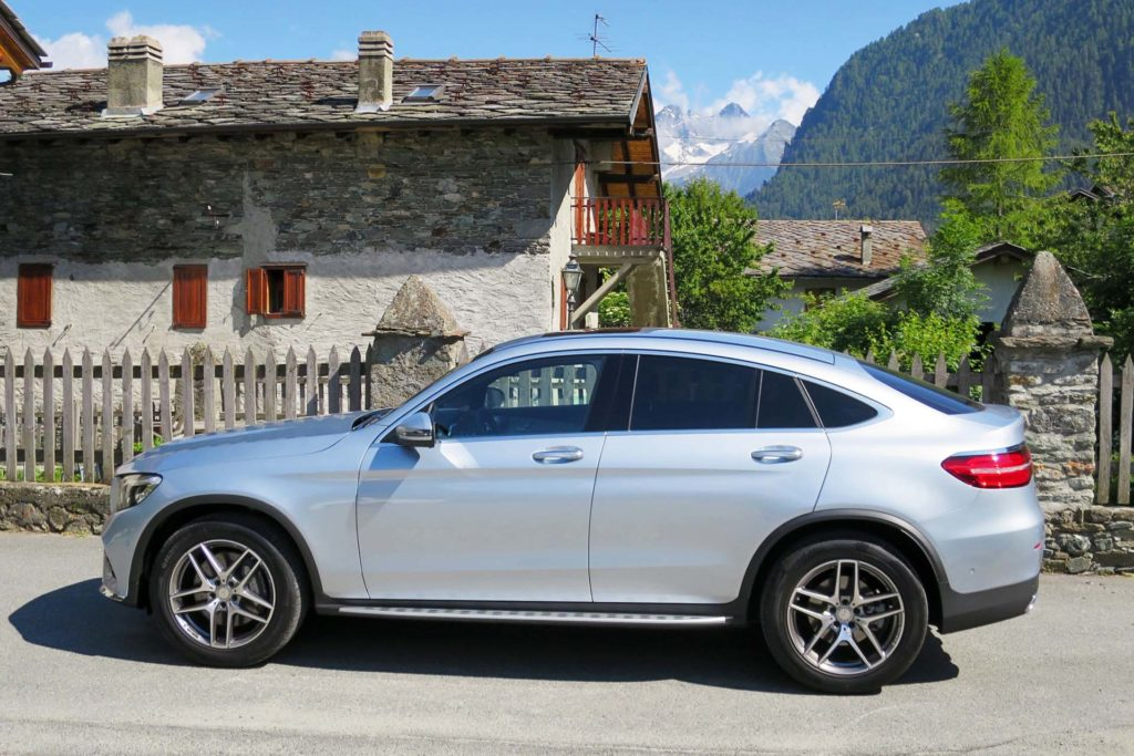 First drive 2017 mercedes benz glc 300 4matic coupe for Mercedes benz glc300 coupe