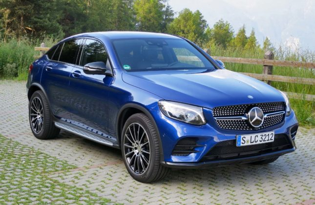 first drive 2017 mercedes benz glc 300 4matic coupe. Black Bedroom Furniture Sets. Home Design Ideas
