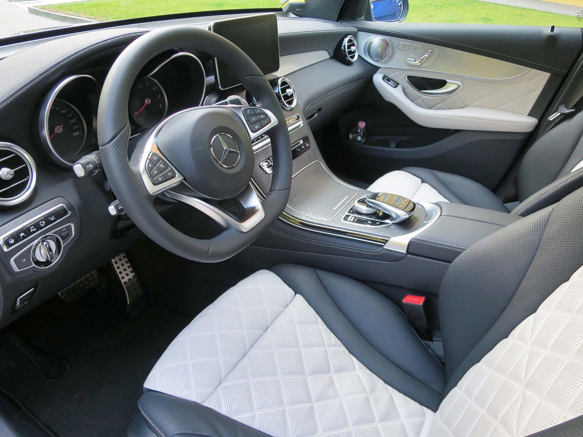 2017 Mercedes Benz Glc 250 4matic Coupe Autos Ca