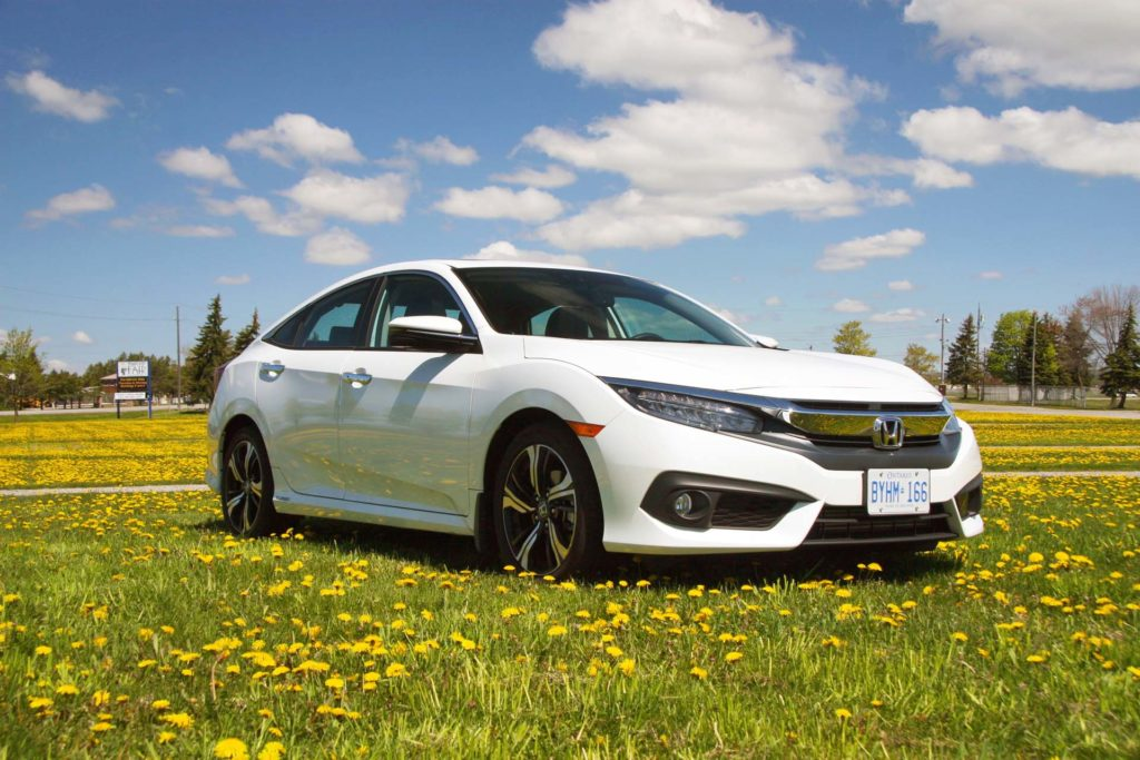 2016 honda civic touring manual