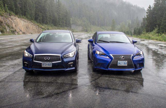 Comparison Test 2016 Lexus Is 350 F Sport Awd Vs Infiniti