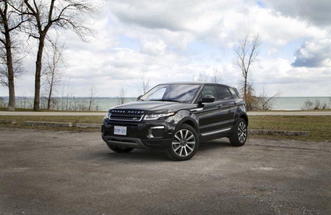 test drive 2016 land rover range rover evoque hse. Black Bedroom Furniture Sets. Home Design Ideas