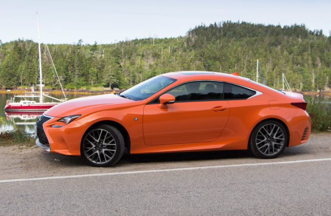 test drive 2016 lexus rc 350 awd. Black Bedroom Furniture Sets. Home Design Ideas