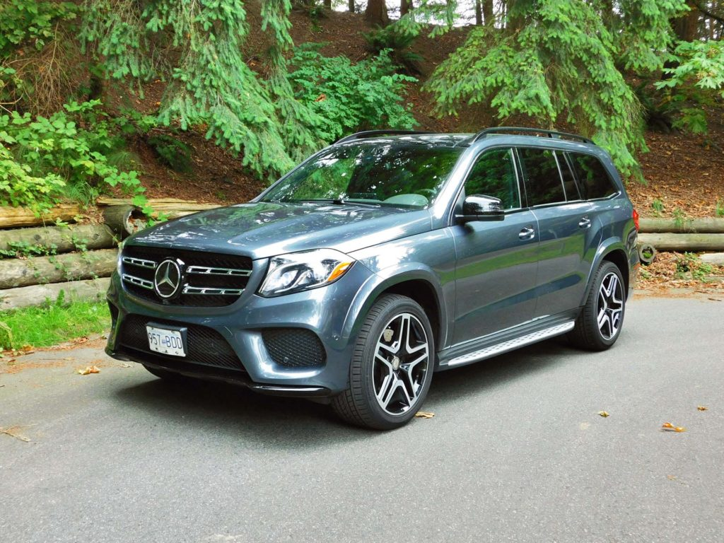 Test drive 2017 mercedes benz gls 450 page 3 of 3 for Carros mercedes benz