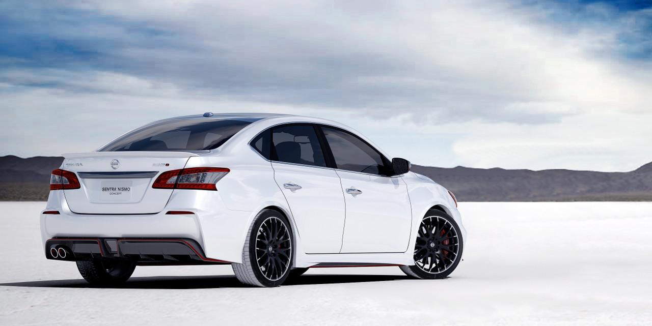 2014 Nissan Sentra Fe S >> LA Auto Show: Nissan Sentra NISMO Concept Is SE-R In New Drag - Autos.ca