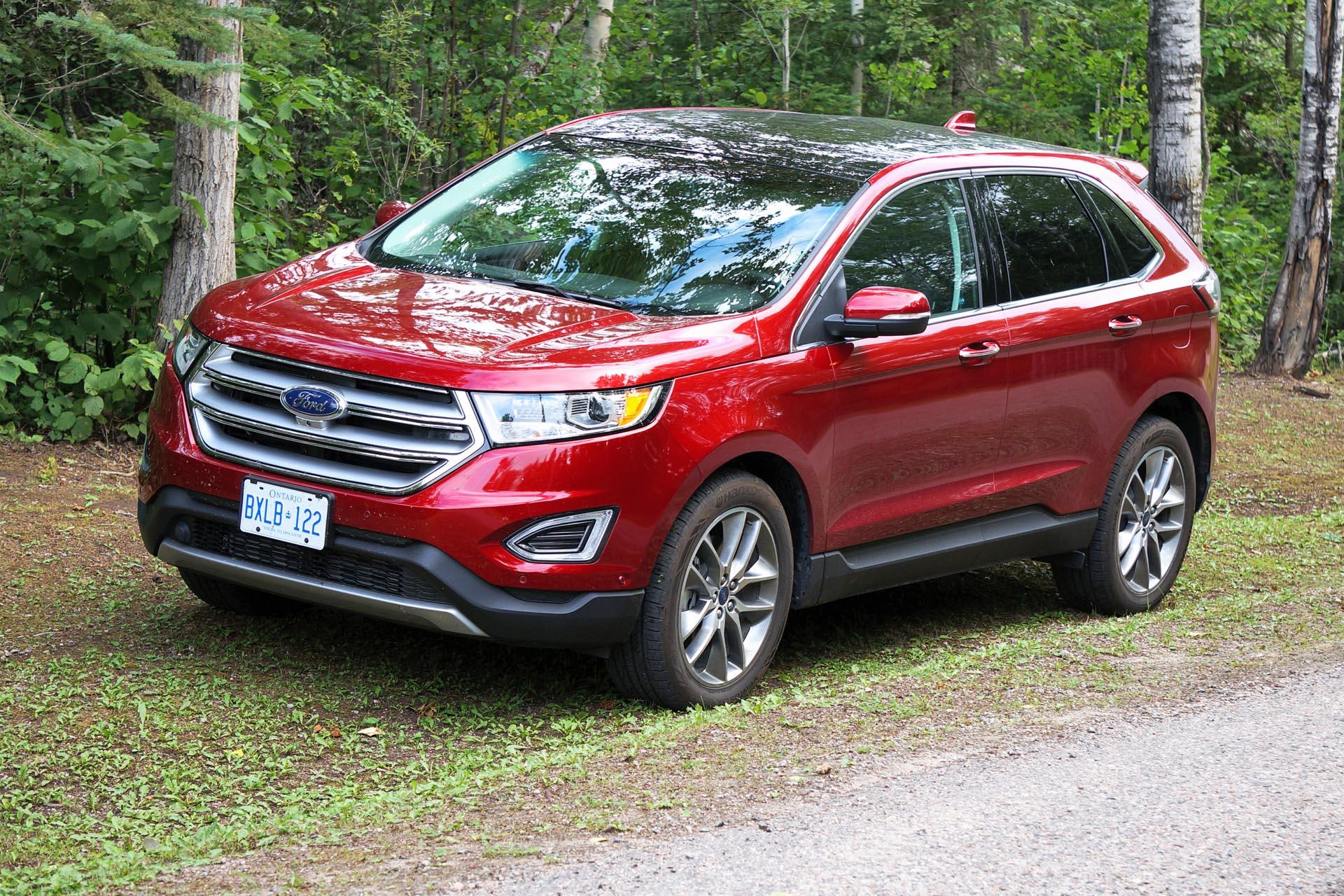 Test Drive  2015 Ford Edge